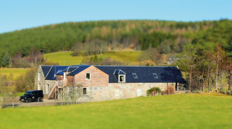 Win a stay for four  at the luxurious Mill of Dess Lodge on the Lower Dess Estate