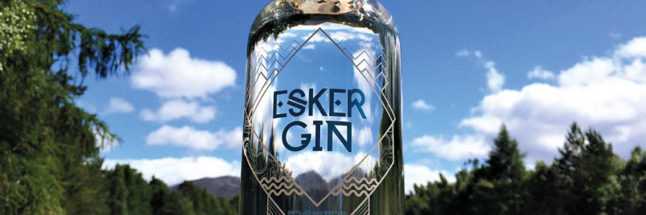 Win a bottle of award winning Esker Gin