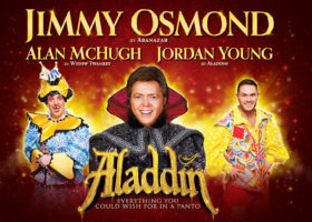 Win a family panto treat at HMT