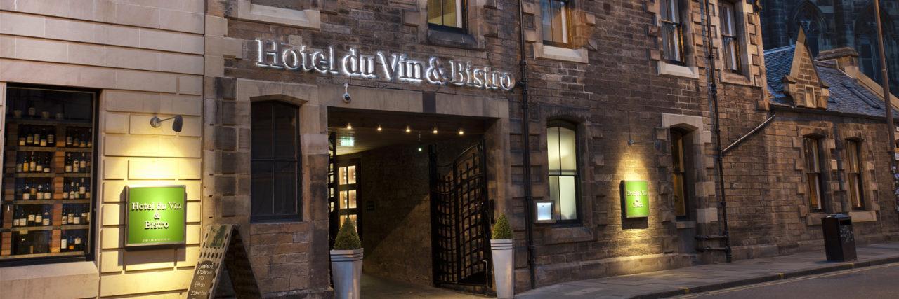 Win a stay at Edinburgh's fabulous hotel du vin