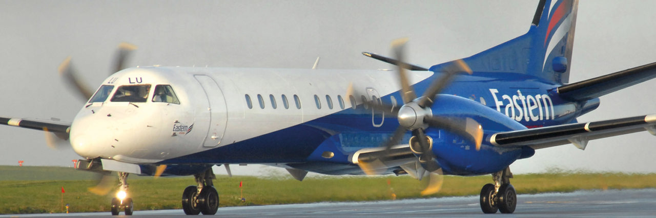 Win return flights to London City Airport with Eastern Airways
