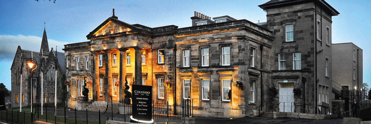 Win a stay at Stirling's superb Hotel Colessio