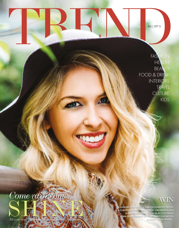 Trend August September 2015 Cover