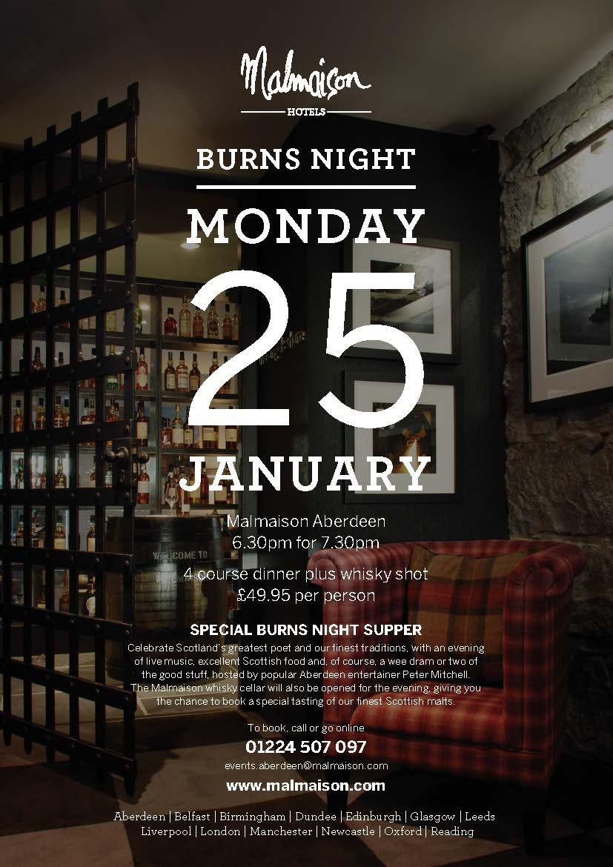 Trend | Burns Night at Malmaison