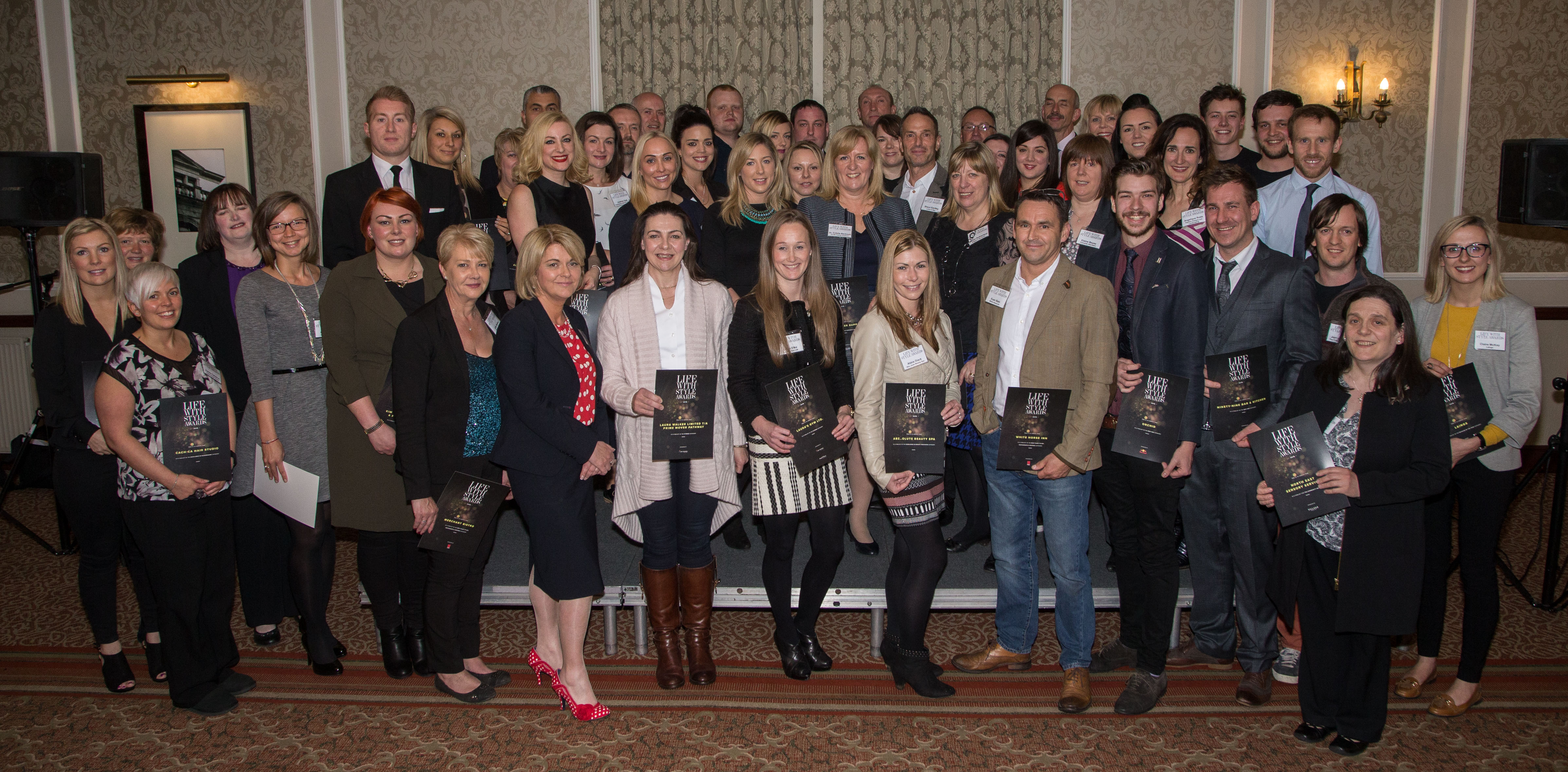 TREND FINALISTS NIGHT AT NORWOOD HOUSE HOTEL PIC DEREK IRONSIDE / NEWSLINE MEDIA