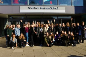 Caption: Organisers of the 2017 Aberdeen Student Festival
